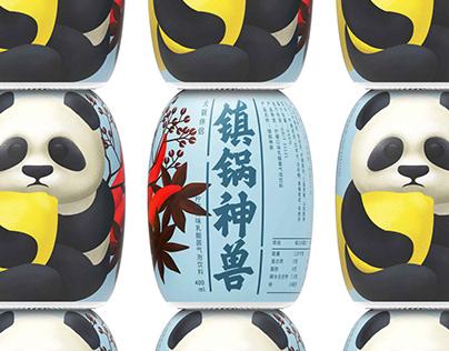 镇锅神兽 火锅伴侣乳酸菌饮料 Hot Pot Monster - The sour milk beverage