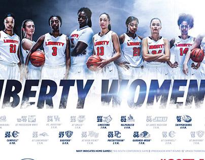 2017-18 Liberty Women's Basketball Campaign