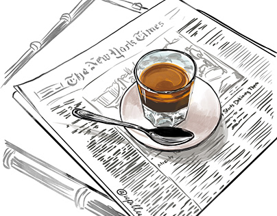 Illustrations for coffee project