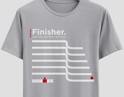 Diseño camiseta Finisher | IRONMAN BARCELONA