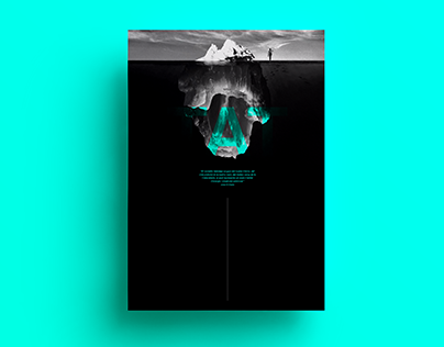 Poster by Xavier Esclusa Trias/Executive Meditation