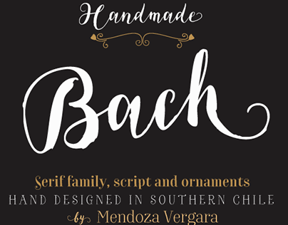 Bach our new Font Family