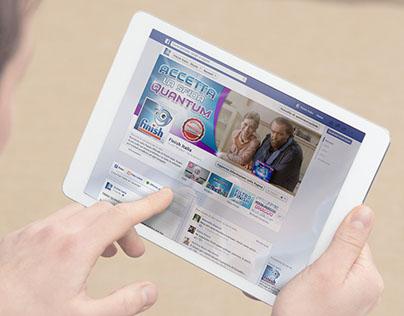 Finish | Social Media Management + FB Mass Reach