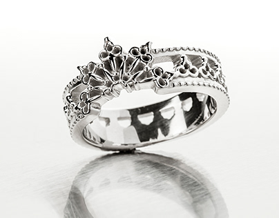Unique rings photography