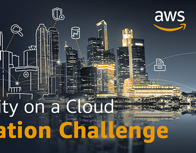 AWS City On A Cloud Banners