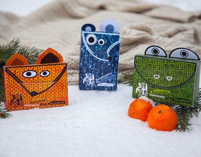 "Gift packs for children ""Zviryata"""