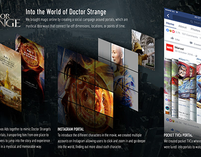 SOCIAL MEDIA CAMPAIGN/ Marvel's Doctor Strange