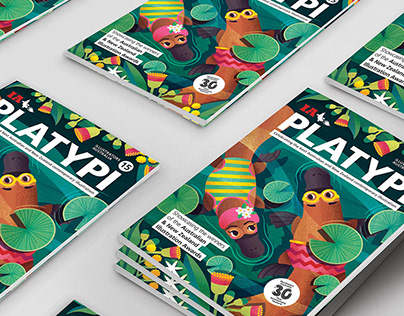 Illustrators Australia PLATYPI 15
