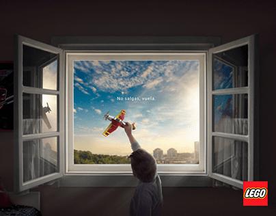 LEGO - No salgas, Vuela