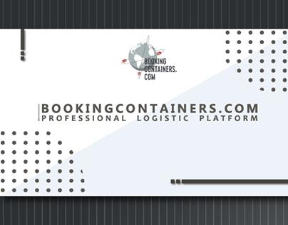 Presentation for the company bookingcontainers.com