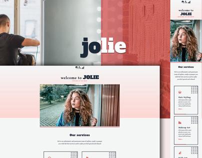 Jolie - Beauty Salon Website