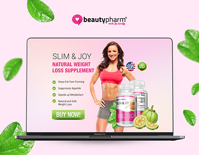 Supplement Product & Landing Page Design