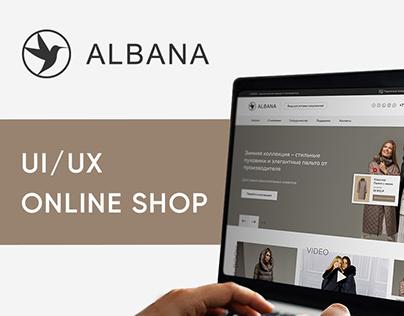 ALBANA — Online Store