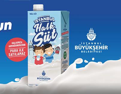 İstanbul Halk Süt Reklam Filmi