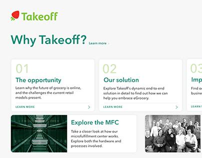 Takeoff's Interactive Sales App