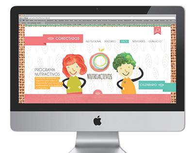 Ilustraciones para proyecto NUTRIACTIVOS