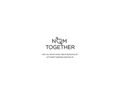 After Break-up App: Nom Together
