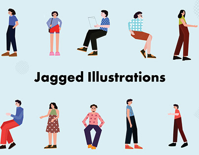 Jagged Illustrations