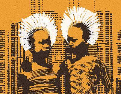 Poblaciones Indígenas - Afiche social