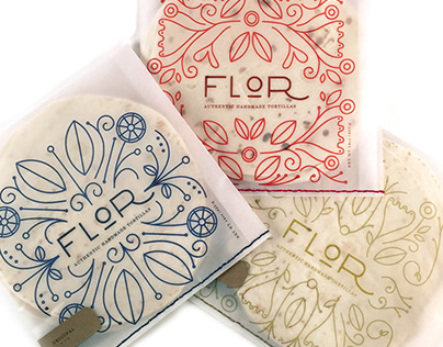 Flor: Tortilla Packaging