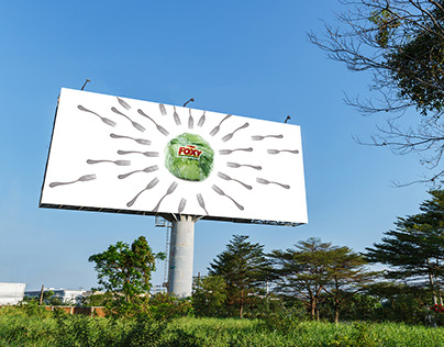 Foxy Vegetables Billboard