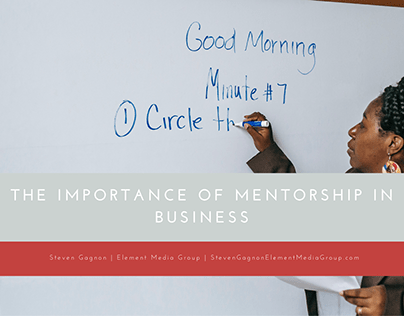 The Importance of Mentorship in Business