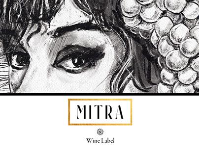 MITRA - Wine Label