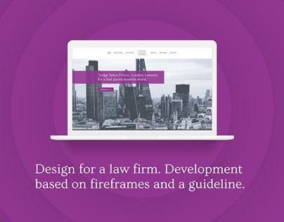 Design for a law firm.