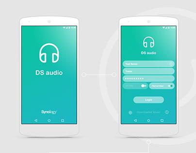 DS Audio App Concept | 2108