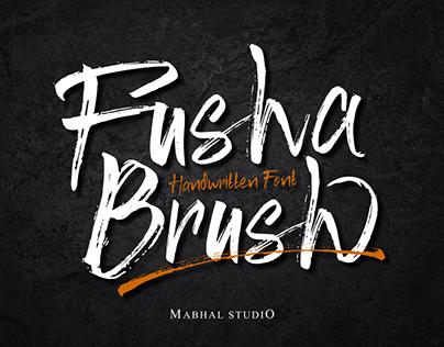 FUSHA | Handwritten Font Brush