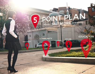 5 Points Map Pins: Moving Our City Forward
