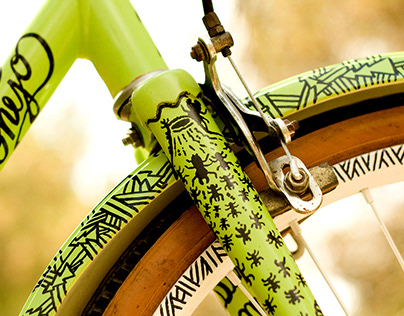 Bike lettering