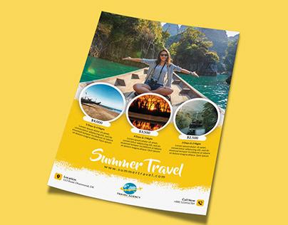 Travel Flyer Design