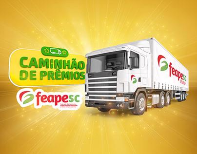 Feapesc | Promoção Caminhão de Prêmios