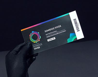 Sonidos Vivos | Branding