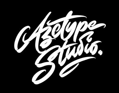 Azetype Studio Logo