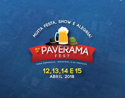 Desenvolvimento da animação da feira de Paverama Fest