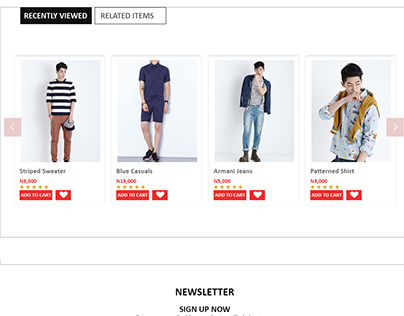 Product Detail Page Ecommerce
