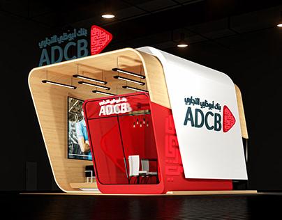 ICT 2021 - ADCB | Booth Design