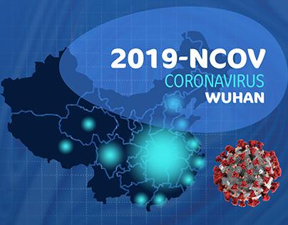 CORONAVIRUS INFOGRAPHIC 2019-ncov WUHAN