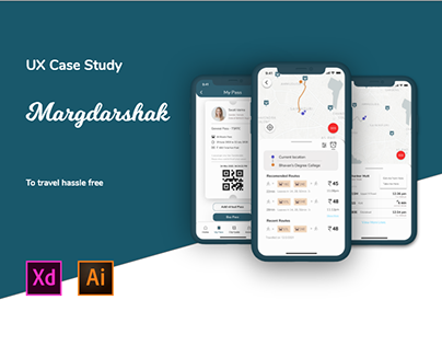 Margdarshak: A bus tracking app UX Case Study