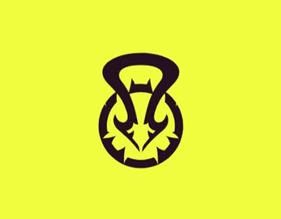 Kettlebell + Bird Logo