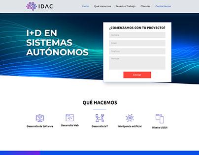 IDAC   Landing page