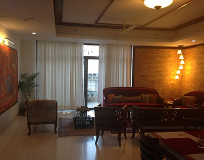 Residential Apartment Interiors, Gurgaon