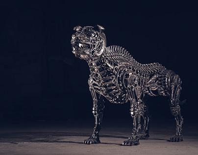 "Biomechanic dog NO.:4 ""Big Boss"" (2017)"
