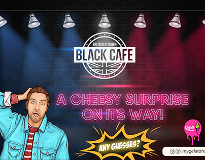 Black Cafe Posters