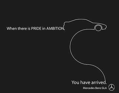 (Mock)Mercedes Benz GLA: You Have Arrived