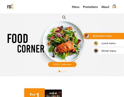 Food Corner Website