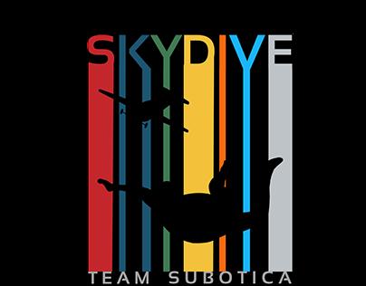 Skydive team logo