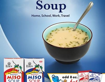 Eden Miso Soup Ad